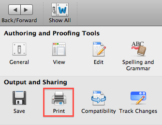 Word 2011 How To Print Background Colors And Images Of Current
